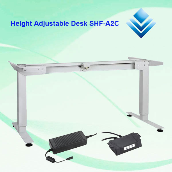 Single Motor Height Adjustable Desk
