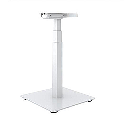 Single Leg Height Adjustable Desk